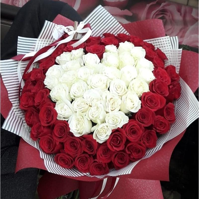 75 rosas premium
